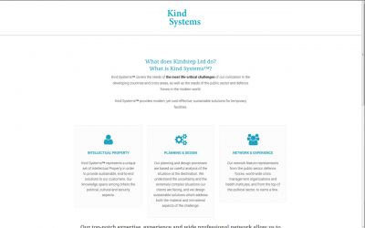 Kindstep -wordpress verkkosivut